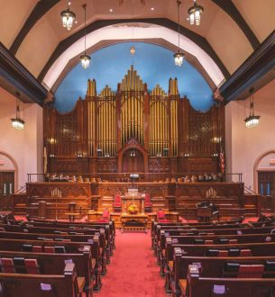 1929 Organ in Worship