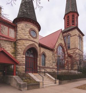 Exterior of First Congregational Church of Winona